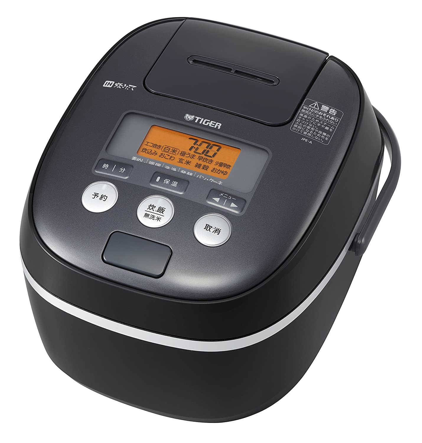 "TIGER IH Rice Cooker "" TAKITATE (freshly cooked) "" (1.0L Cooked) JPE-A100-K (Black)?Japan Domestic genuine products?"