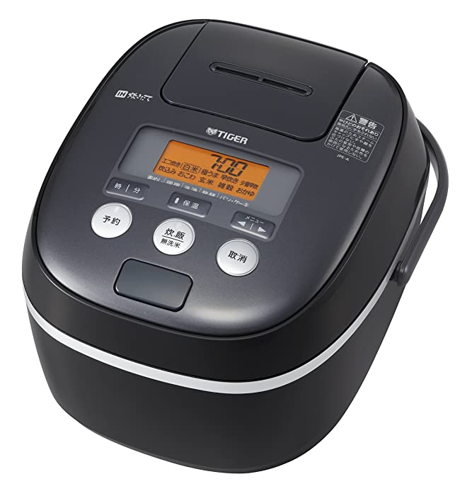 "TIGER IH Rice Cooker "" TAKITATE (freshly cooked) "" (1.0L Cooked) JPE-A100-K (Black)【Japan Domestic genuine products】"