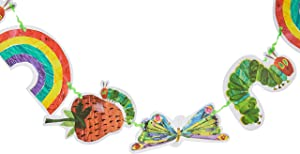 World of Eric Carle, The Very Hungry Caterpillar Party Supplies, Garland Decoration, Paper, 3M -