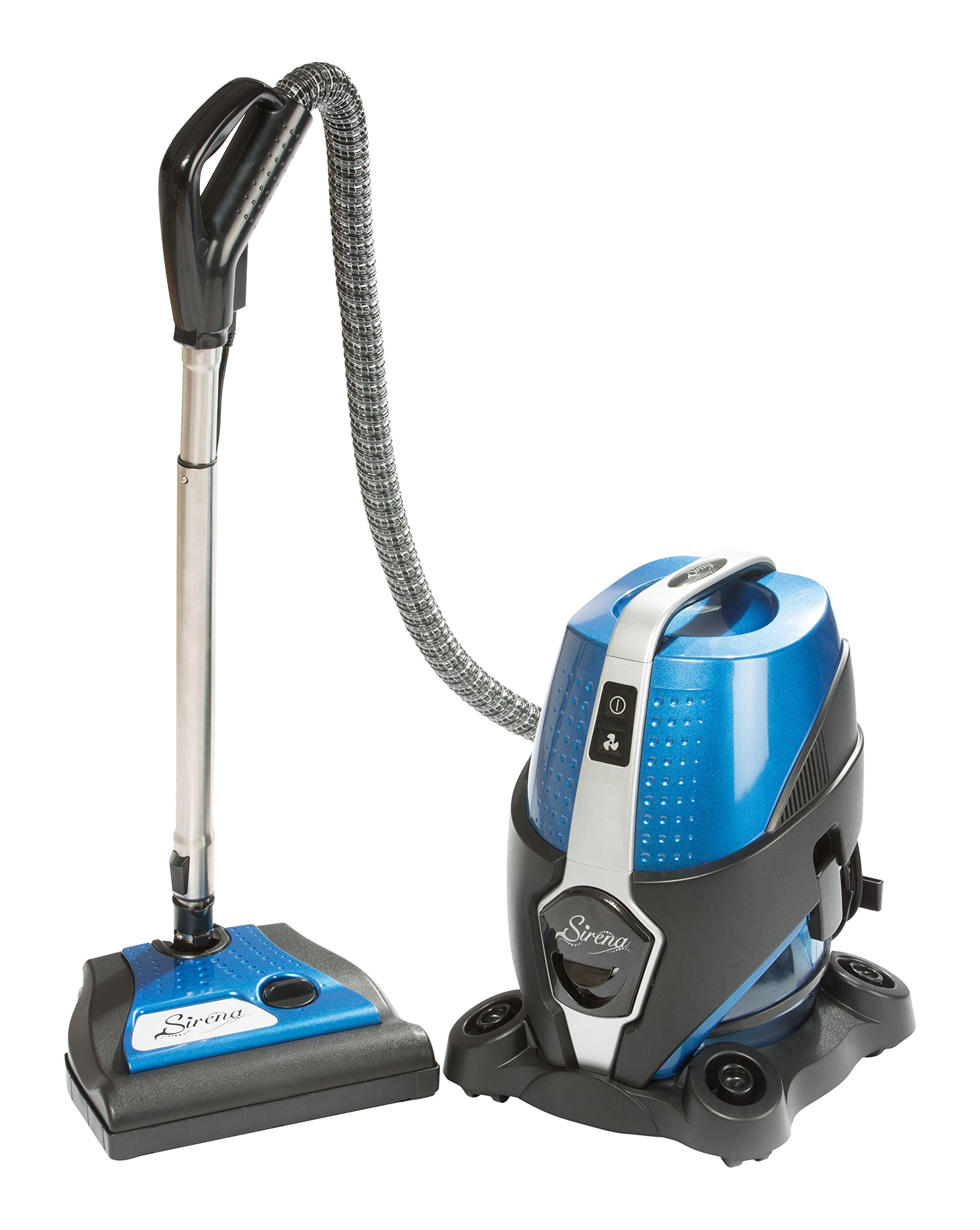 SIRENA 2 Speed Vacuum with Power Nozzle and Rainbow E2 Fragrance - Corded