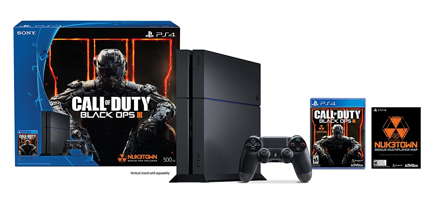 Playstation 4 500gb Console Call Of Duty Black Ops Iii Bundle Discontinued Video Games