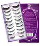 de Prettilicious Premium False Eyelashes Set 10-Pair, 10-style. ON SALE NOW! FREE Beauty E-book. Makeup Artists' First Choice. Eyelashes -Lashes - Lash - Eye Lash - Falsie - False Lashes. Best Gift for her, Birthday Gift, Holiday Gifts, Thanksgiving Gift. 100% Risk Free Guarantee. 60 Days Return with NO QUESTION ASKED.