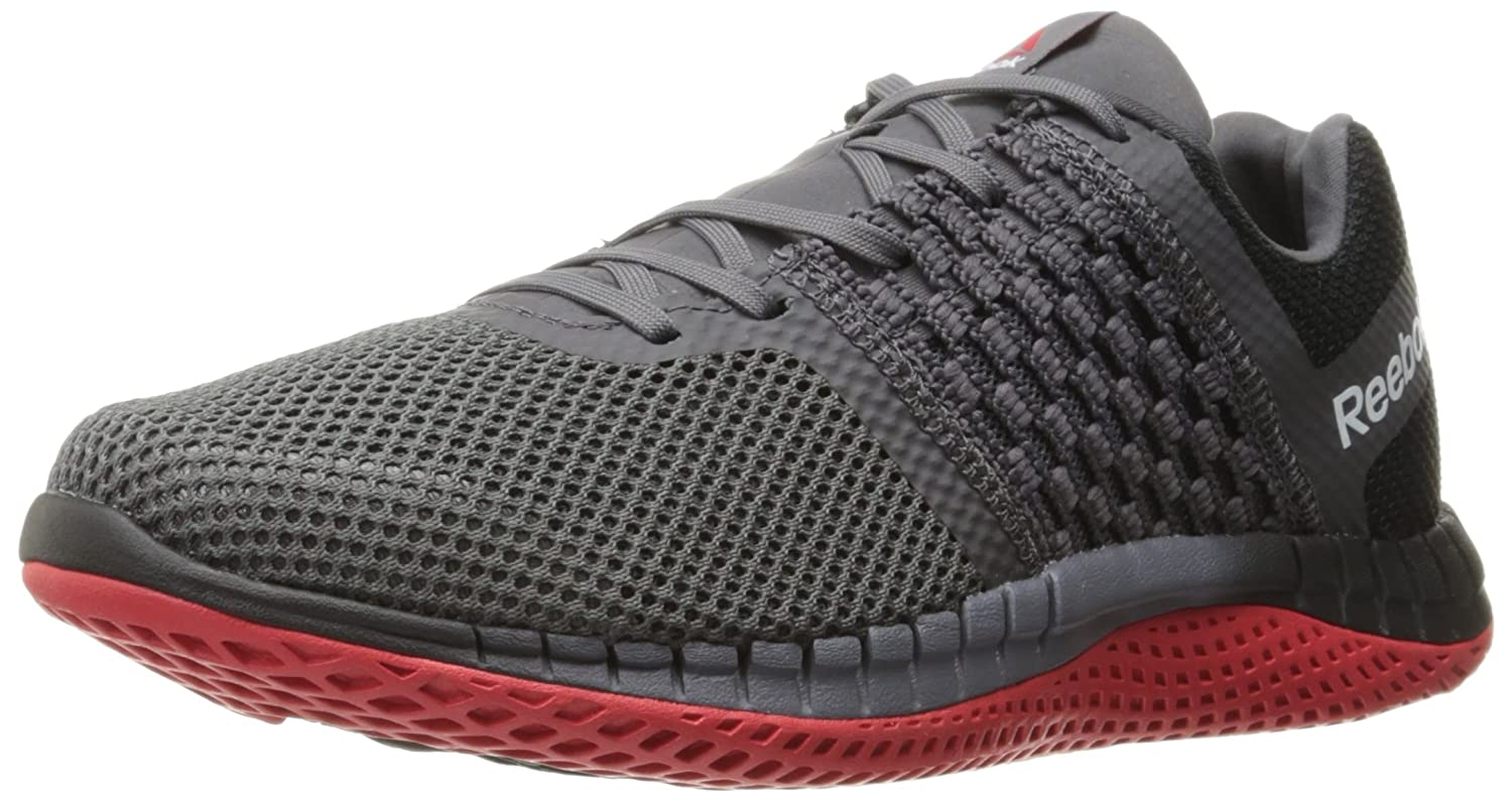 eb3773afb82fc Reebok メンズ B01M0TR4Q3 11 D(M) US Black/Ash Grey/Asteroid Dust/Primal  Red/Pewter- ランニング