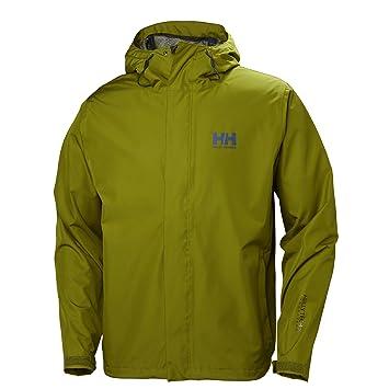Helly Hansen Seven J Shell Jacket, Hombre, fir Green, S