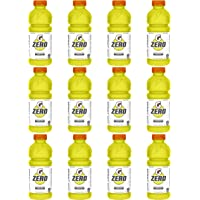 12-Pack Gatorade Zero Sugar Thirst Quencher, Lemon-Lime, 20 Ounce Bottles