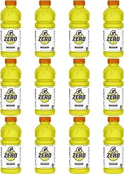 12-Pack Gatorade Zero Sugar Thirst Quencher, 20 Ounce Bottles
