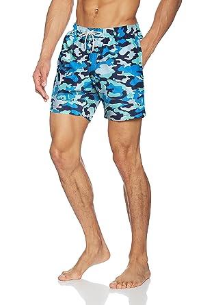 46d9caa007968 Bluemint Men's Arthur Shorts, Multicoloured (Cascade Camo), XX-Large ...
