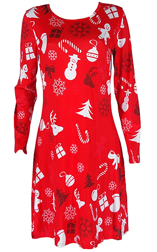 Christmas Holiday Dresses Woman