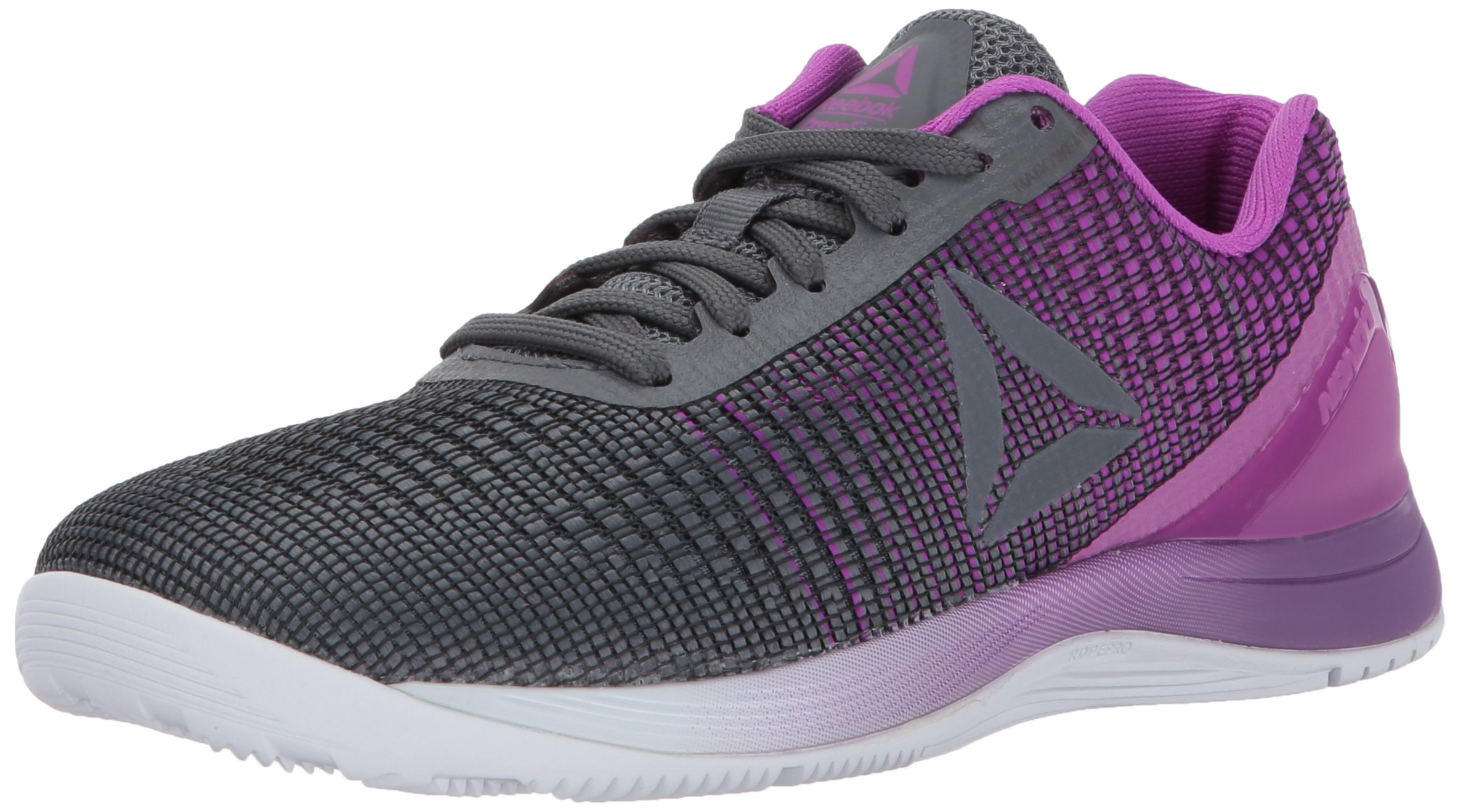 Reebok Women's Crossfit Nano 7.0 Track Shoe, Alloy/Vicious Violet/White, 10 M US