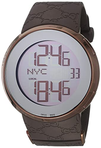 a77e32b3bfe Buy Gucci 114 I-Gucci Mens Watch YA114209 Online at Low Prices in India -  Amazon.in