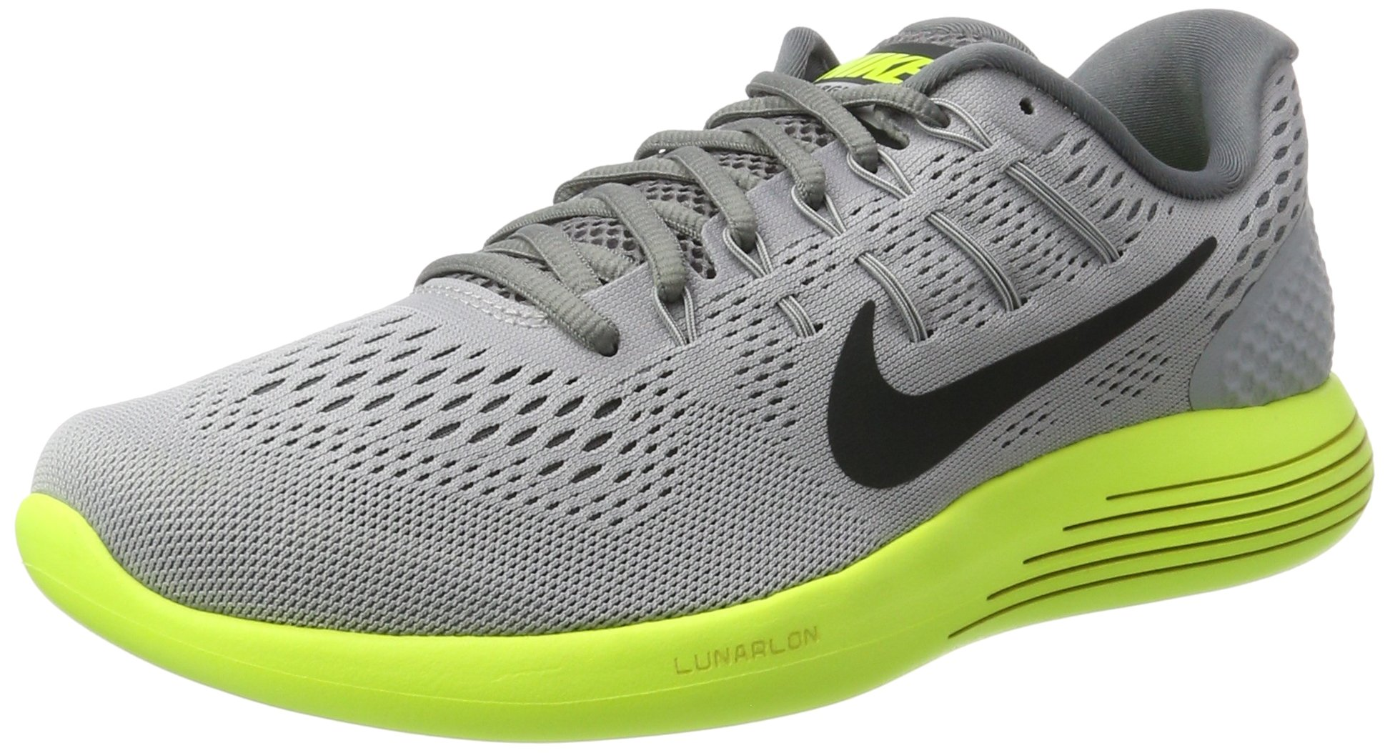 sneakers for cheap c6cff 6b9ac Galleon - Nike Lunarglide 8 Wolf Grey Anthracite Volt Cool Grey Men s  Running Shoes