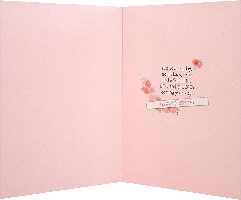 Hallmark Medium Slim Aunty Contemporary Glittered Birthday Card ...