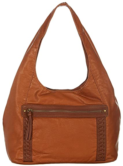 9703608833c Amazon.com  Bueno Pearl Washed City Hobo Handbag One Size Black  Shoes