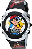 Pokémon Kids' Watch with Flashing LED Lights - Kids Digital Watch with Official Pokémon Characters on the Dial…