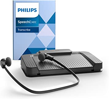 Philips Lfh7177 Wiedergabe Set Für Digitale Diktiersysteme Von Philips Inkl Usb Fußschalter Acc2330 Stereo Unterkinn Kopfhörer Lfh0334 Wiedergabe Software Speechexec 10 Anthrazit Bürobedarf Schreibwaren