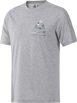 Reebok Ost Speedwick Graphic tee Camiseta, Hombre, brgrin, M: Amazon.es: Deportes y aire libre