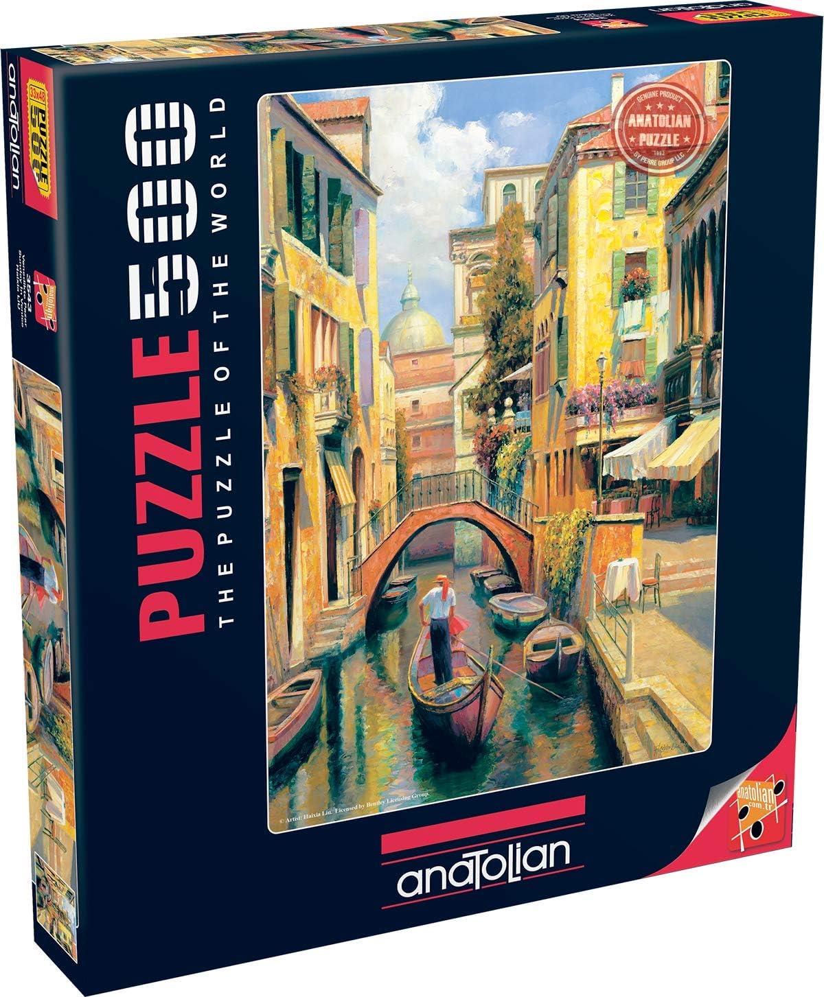 Anatolian 500 Piece Puzzle - Sunday in Venice Puzzle, Multicolor (PER3543)