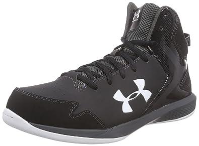 Under Armour Men's UA Lockdown Black/Charcoal/White Sneaker 11.5 D - Medium,