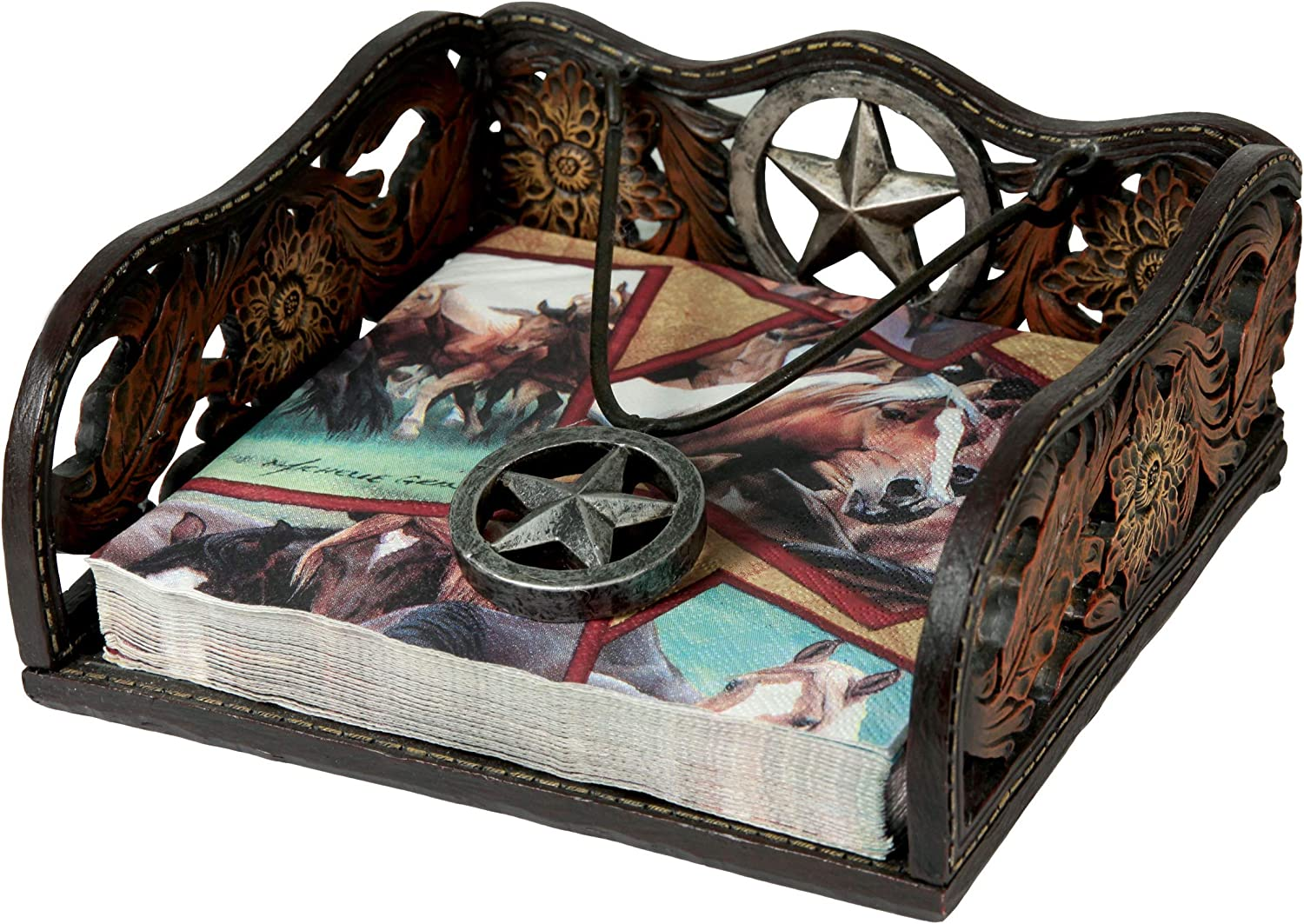 River's Edge Products Western Style Napkin Holder