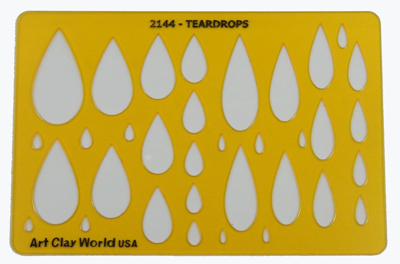 Artistic Design Template - Teardrops Isomars
