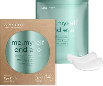 NEW Silicone care Eye Pads - enriched with highly effective hyaluron