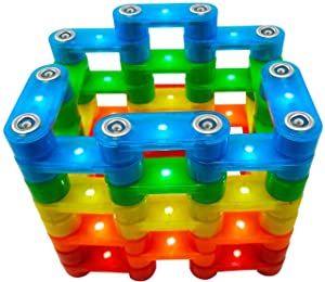 Magz Electrobrix 42 Piece Magnetic Light up Building Set