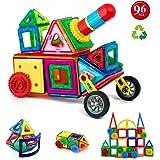 Children Hub 96pcs Magnetic Building Blocks Set: Educational Toys For Kids