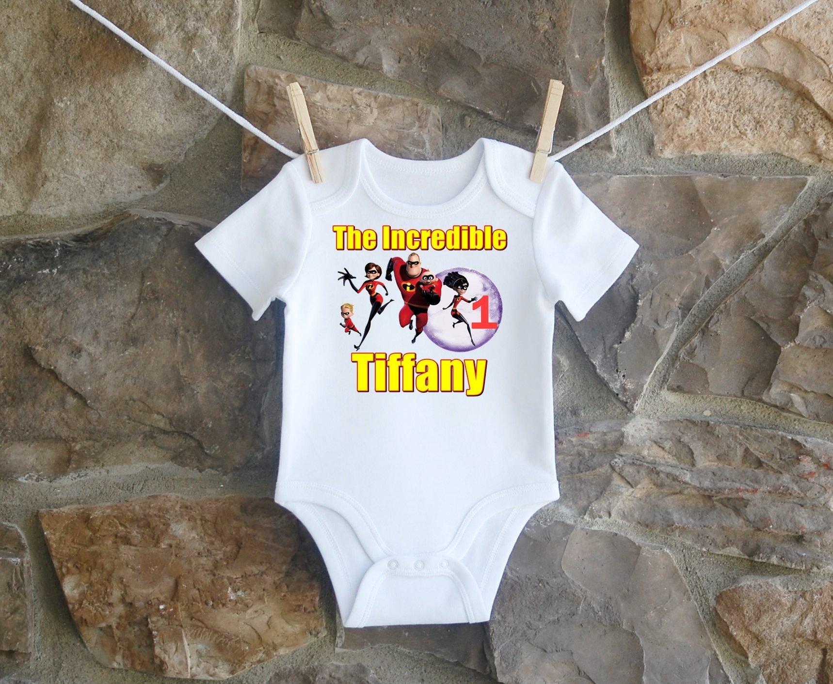 The Incredibles Birthday Shirt, The Incredibles Birthday Shirt For Girls, Personalized Girls Incredibles Birthday Shirt, Customized Incredibles Birthday Shirt