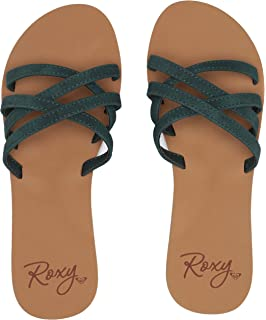 462c50c1bf12 Amazon.com  Roxy Women s Kaia Slip Slide Sandal Flat  Shoes