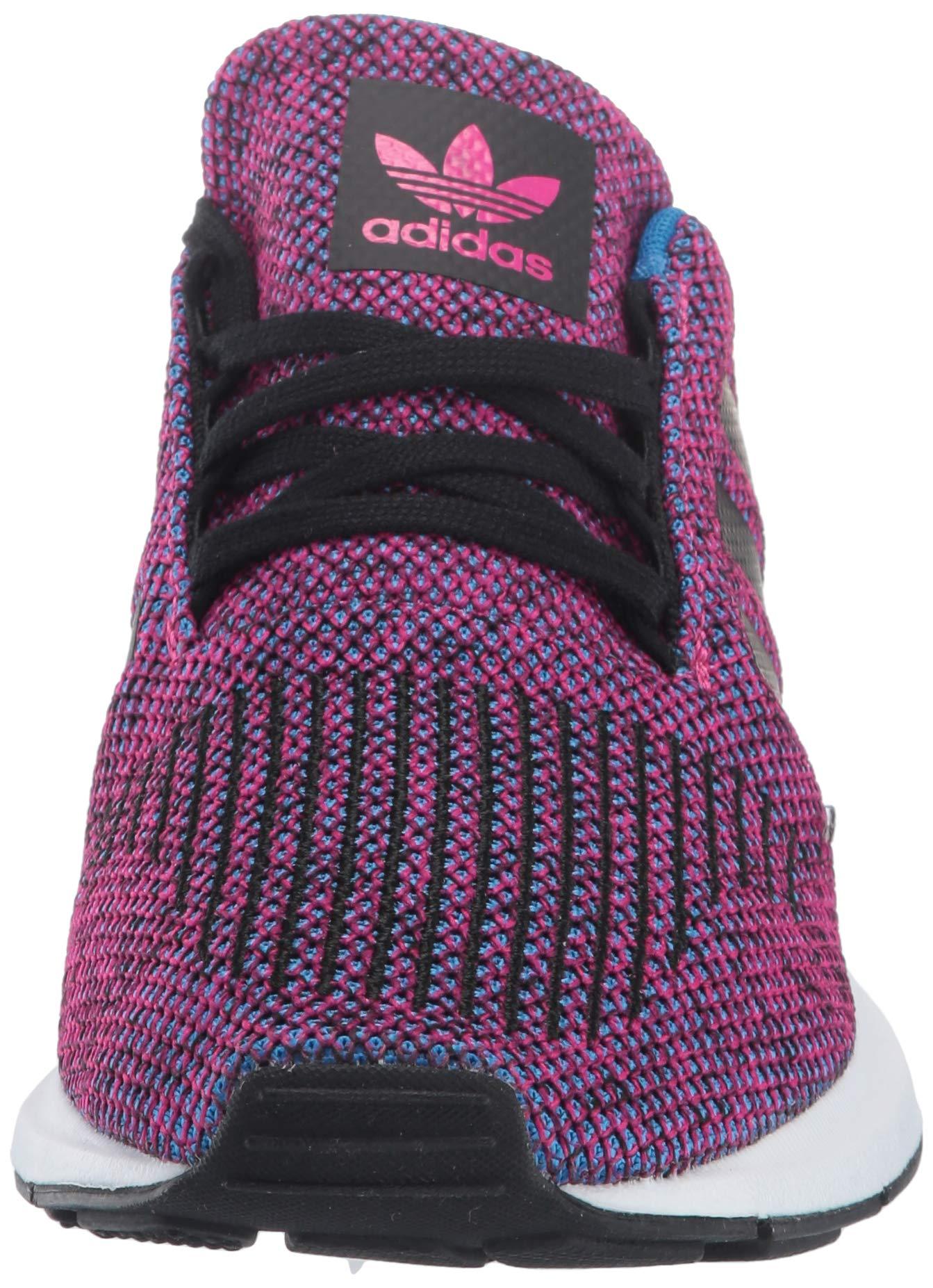 adidas Originals Baby Swift Running Shoe Real Magenta Black, 10K M US Toddler by adidas Originals (Image #4)
