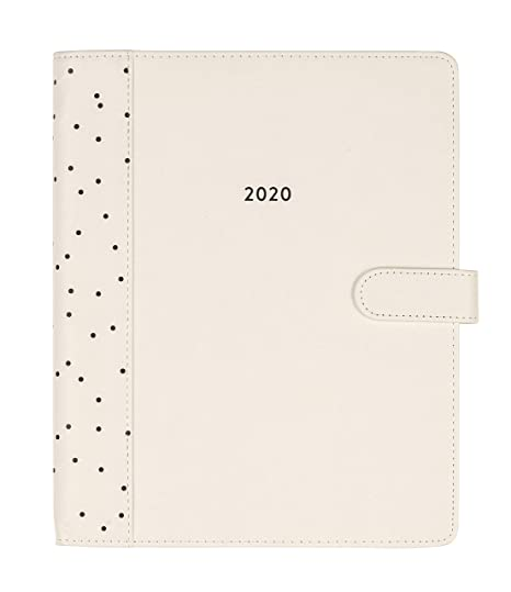 2019-2020 Eccolo Large Spiral-Bound Agenda Planner, 18 Months of Monthly & Weekly Views, 8 x 10