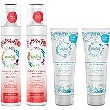 Kit de Recién Nacido Babyleaf - Incluye 2 Shampoos en Espuma Recién Nacido + 2 Cremas Cuerpo y Cara de 250ml cada una