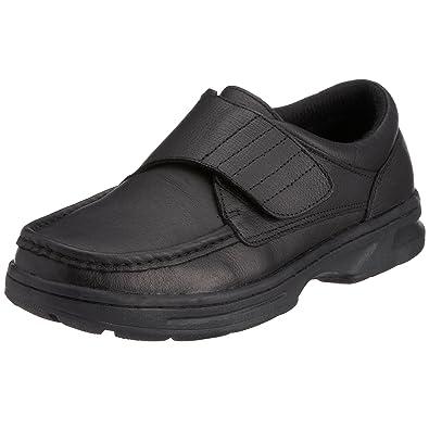 Dr Keller 0103383060 - Zapatos de cordones de cuero para hombre, color negro, talla 39.5