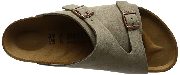 80beba43e52d Birkenstock Womens Zrich Taupe Suede Sandals 38 (Ãtroit) N 050463  Buy  Online at Low Prices in India - Amazon.in