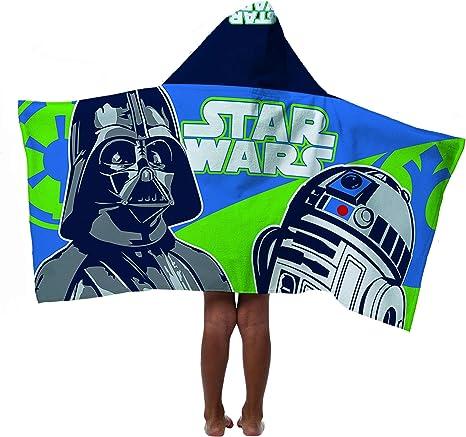 Bath cape star wars new 100/% cotton hooded poncho beach towel