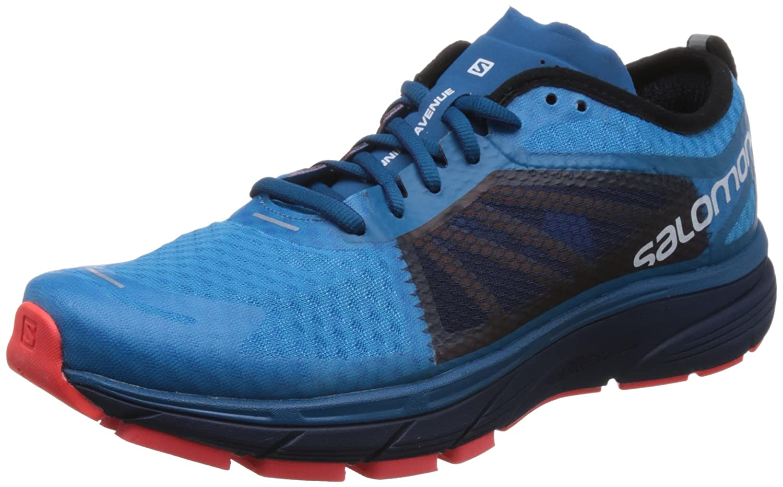 Salomon Sonic Ra, Zapatillas de Trail Running para Hombre 40 2/3 EU|Hawaiian Surf / Medieval Blue / Fiery Coral