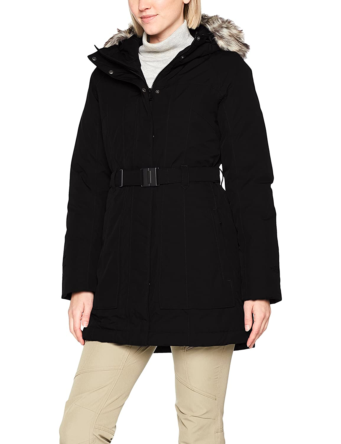 TALLA L. The North Face W Brooklyn Parka 2 Chaqueta-Mujer