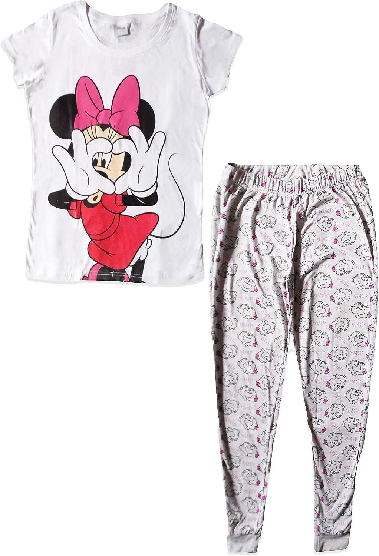 Disney Minnie Mouse Pigiama da donna in cotone