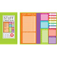 Book of Sticky Notes: Stuff I Need to Do - Brights