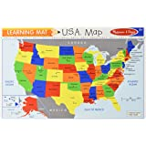 Melissa & Doug The United States Write-A-Mat placemat