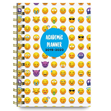 Planners 2019-2020 Academic Year Day Planner Calendar Book - Weekly/Monthly Dated Agenda Organizer - 6.25