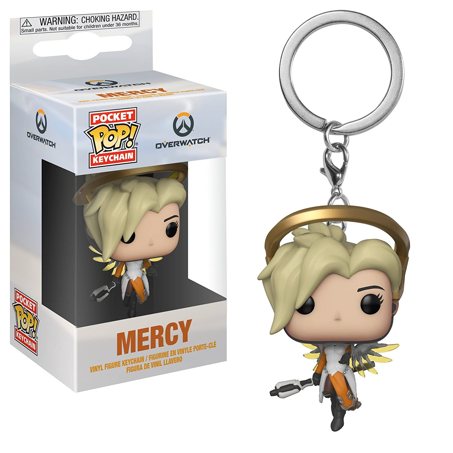 Key chain Pocket Pop Overwatch-Mercy Llavero con Anilla ...