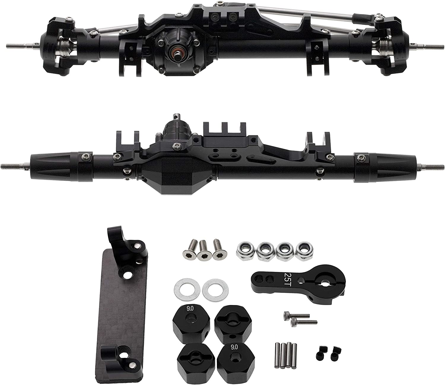 Max 88% OFF Ky-RC Aluminum Complete Front Rear Axle 1 Save money Ro Crawler 10 for RC