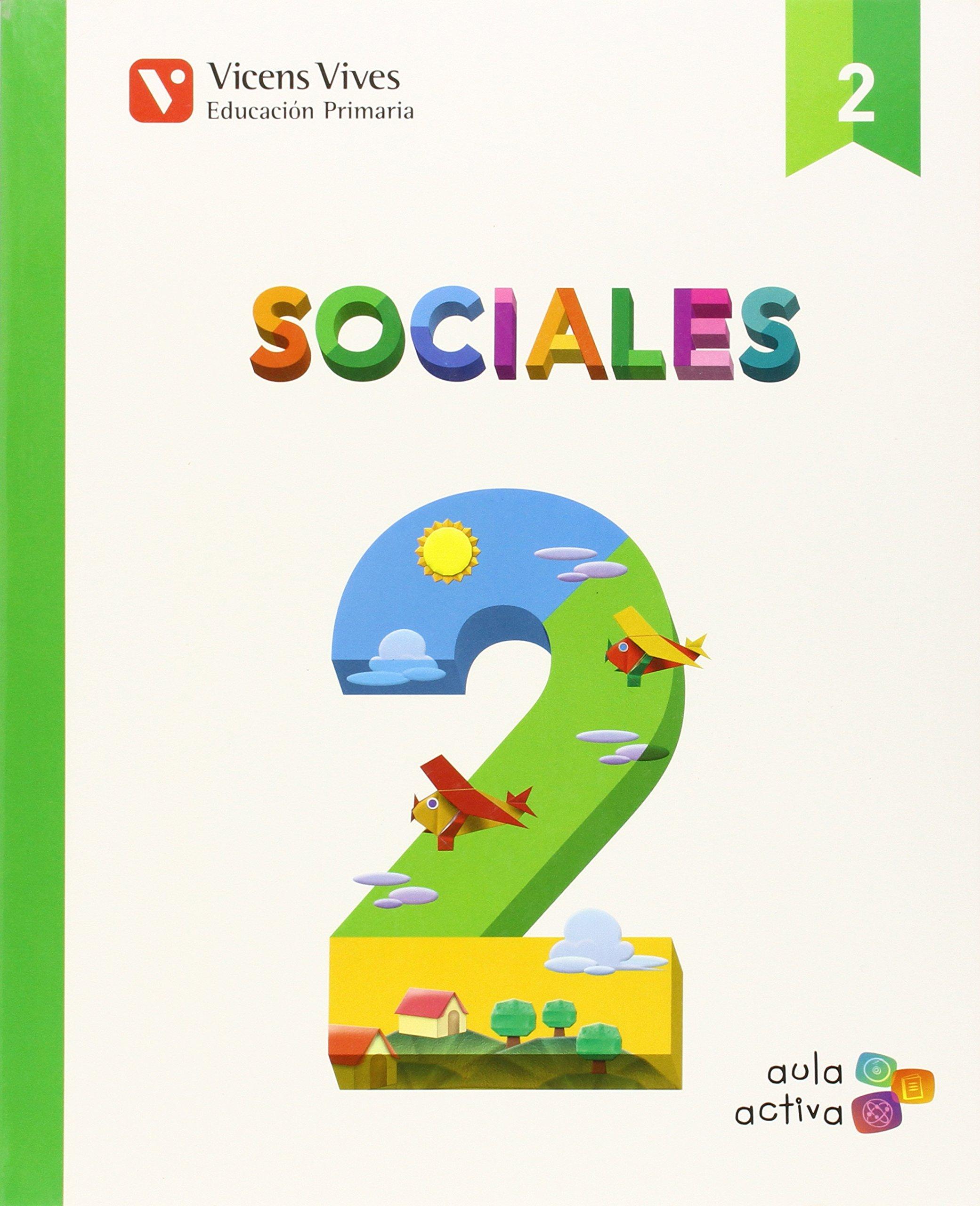 Sociales 2 (aula Activa) - 9788468228396: Amazon.es: Flo Esteve, Carles: Libros