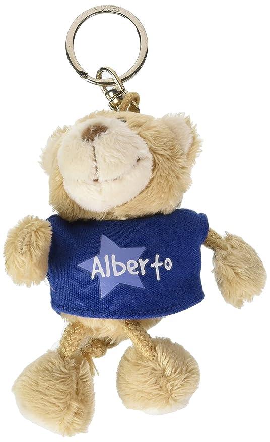 NICI n15850 - Llavero Oso con Camiseta Alberto, Azul: Amazon ...