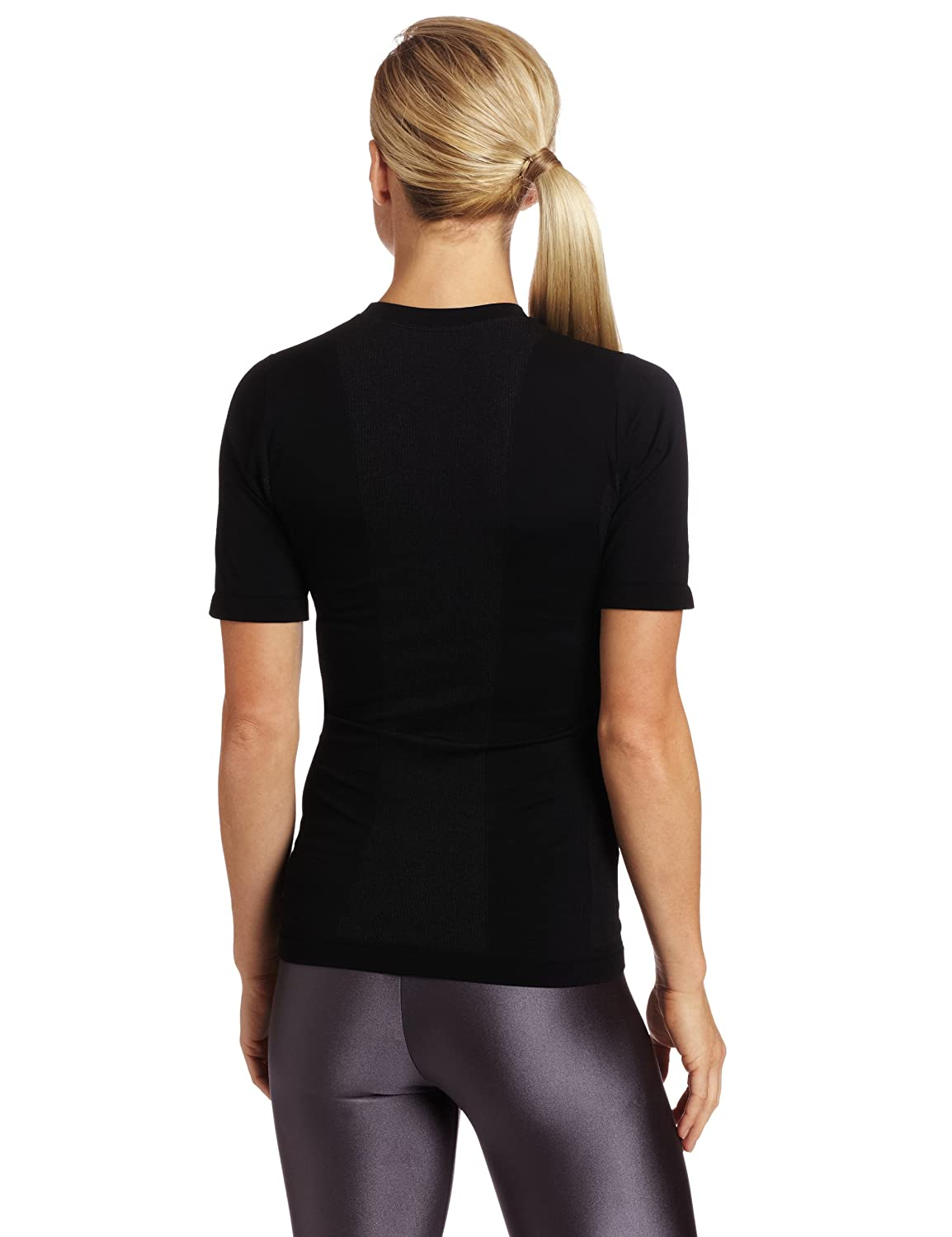 Amazon.com : Zensah Seamless Short Sleeve Compression Shirt - Black L/XL : Athletic Shirts : Sports & Outdoors