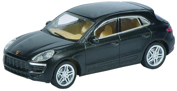 Schuco 452616300 - Porsche Macan S, 1:87, Negro: Amazon.es: Juguetes y juegos