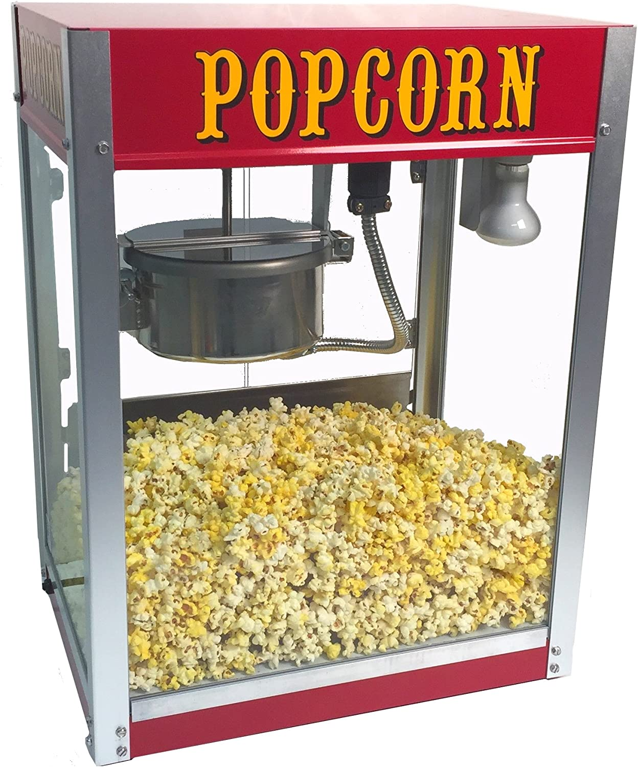 Amazon Com Theater Pop 6 Ounce Popper Popcorn Machine Sports Outdoors