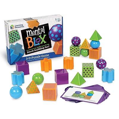 Learning Resources- Juego de razonamiento analítico Mental Blox, Color (LER9280): Juguetes y juegos