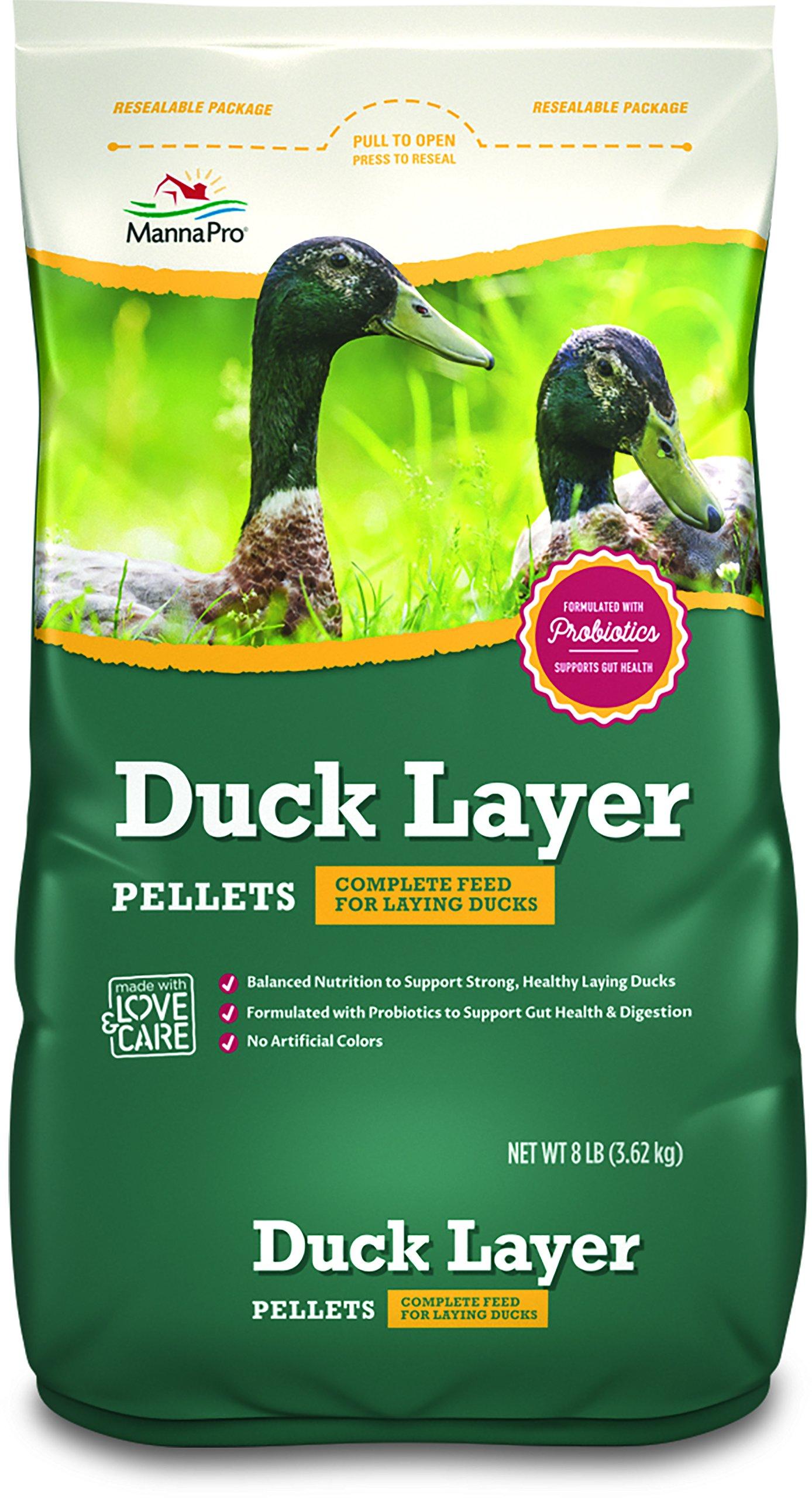 Manna Pro Duck Layer Pellets, 8 lb